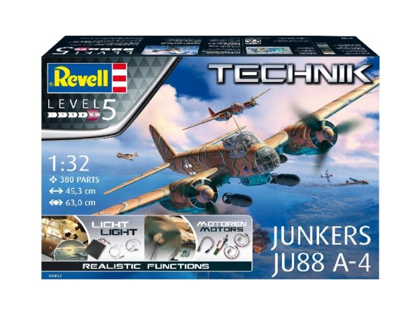 Revell 00452 1/32 Junkers Ju 88 A-4