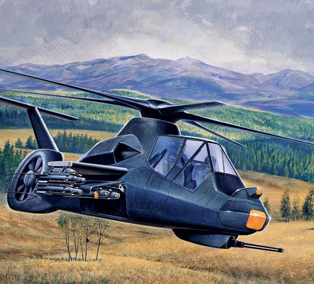 ITALERI 0058 Rah-66  Comanche Modellismo