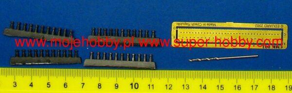 CMK 006 SET BULLONI ESAGONALI 2mm Modellismo