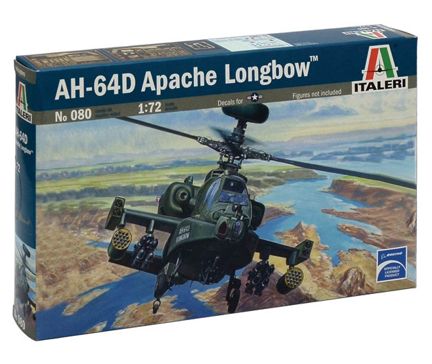 ITALERI 0080 Ah-64 D Apache Longbow Modellismo