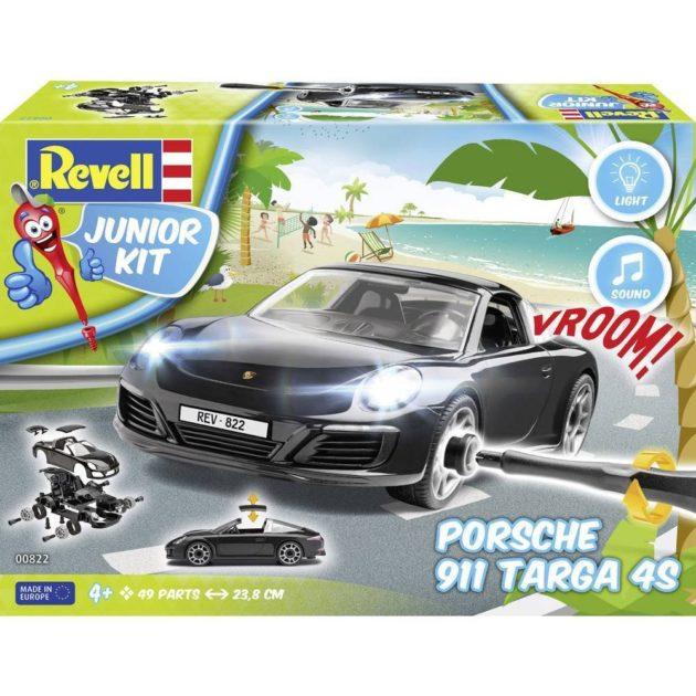 Revell 00822 JUNIOR KIT Porsche  911 Carrera S Targa