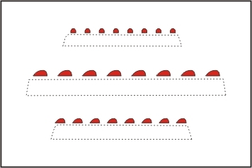 CMK 011 LUCI di navigazione rosse Modellismo