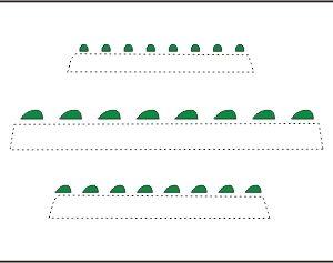 CMK 012 LUCI di navigazioni verdi Modellismo