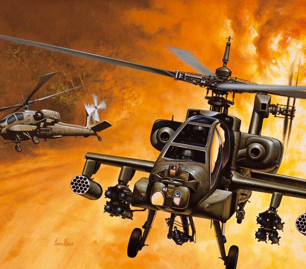 ITALERI 0159 Ah-64 Apache Modellismo