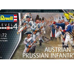 Revell 02452 SEVEN YEARS WAR (AUSTRIAN & PRUSSIAN INFA Modellismo