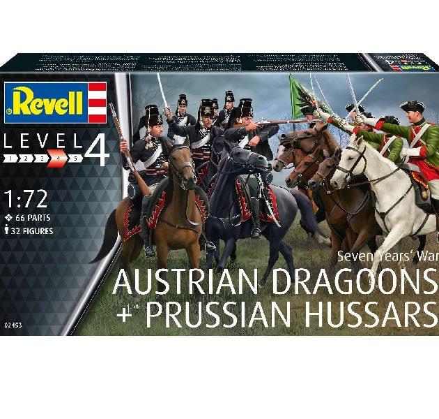 Revell 02453 SEVEN YEARS WAR (AUSTRIAN DRAGGONS & PRUS Modellismo