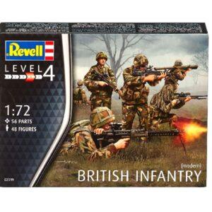 Revell 02519 BRITISH INFANTRY MODERN Modellismo