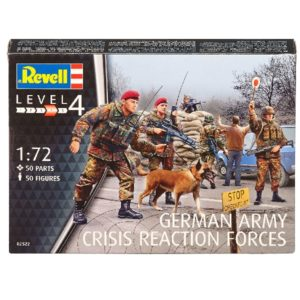 Revell 02522 GERMAN ARMY CRISIS REACTION Modellismo