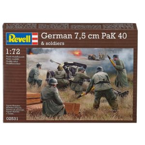 REVELL 02531 German Pak 40 with soldiers Modellismo