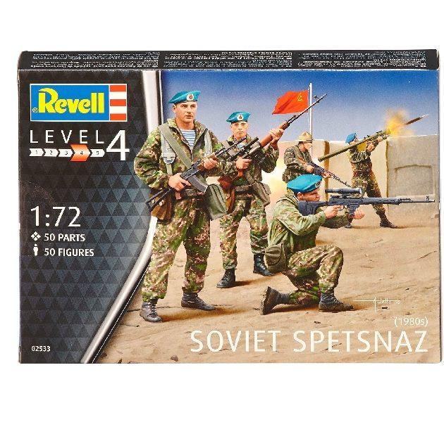 Revell 02533 SOVIET SPETSNAZ 1980 Modellismo
