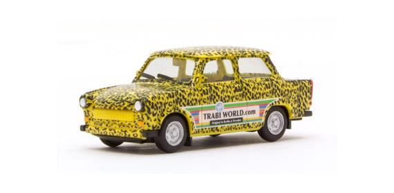 "Herpa 027625 Trabant 601 ""Edizione Trabi-World.com""mod"