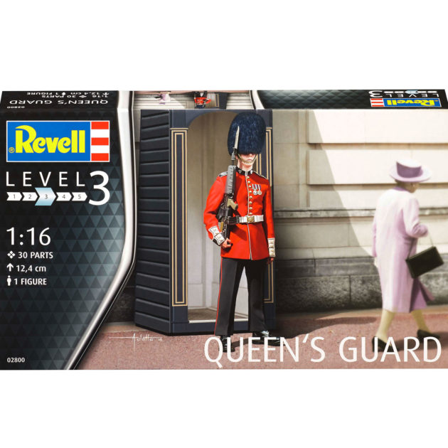 Revell 02800 QUEEN'S GUARD Modellismo