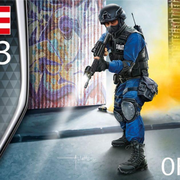 Revell 02805 SWAT Officer Modellismo