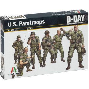 ITALERI 0309 U.S. Paratroops Modellismo