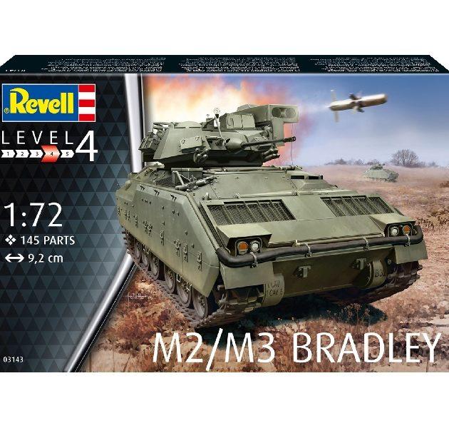 Revell 03143 M2/M3 BRADLEY Modellismo