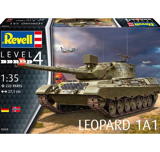 Revell 03258 LEOPARD 1A1 Modellismo