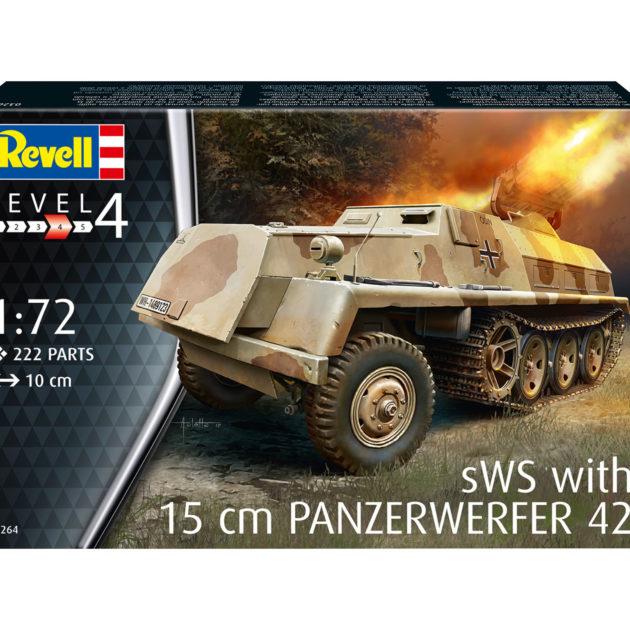 Revell 03264 15 cm Panzerwerfer 42 auf sWS Modellismo
