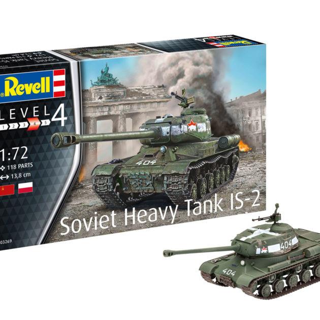 Revell 03269 Soviet Heavy Tank IS-2 Modellismo