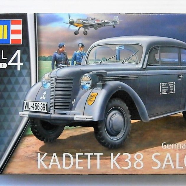 "Revell 03270 German Staff Car ""Kadett K38 Saloon"" Modellismo"