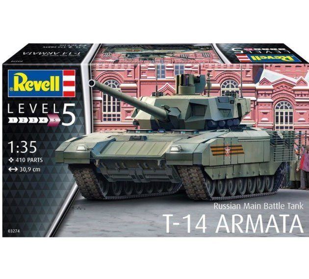 Revell 03274 Russian Main Battle Tank T-14 Armata Modellismo
