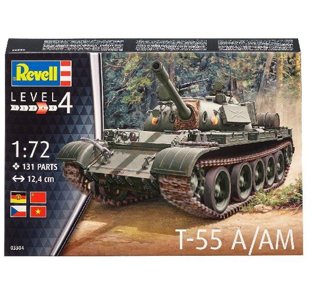 Revell 03304 T-55A Modellismo