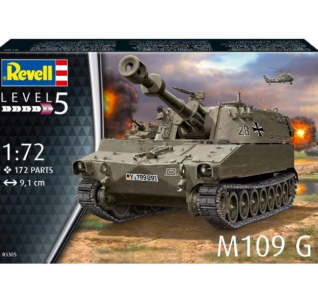Revell 03305 M109 G Modellismo