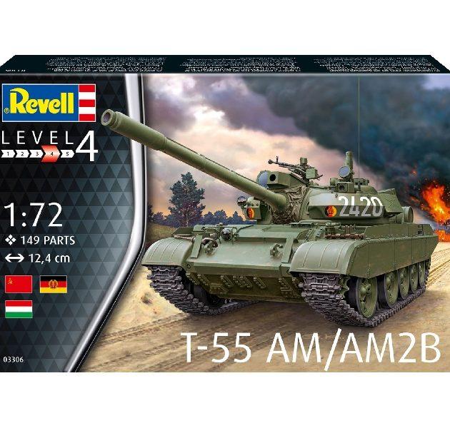 Revell 03306 T-55AM / T-55AM2B Modellismo