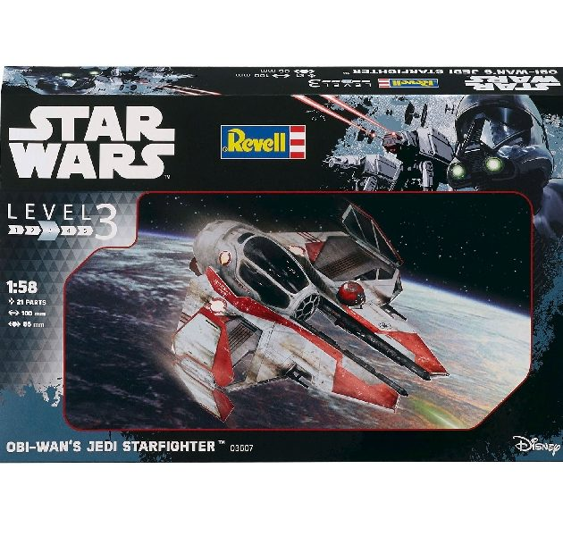 Revell 03607 1/58  OBI WAN JEDI STAR FIGHTER
