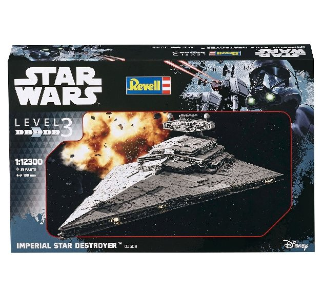 Revell 03609 IMPERIAL STAR DESTROYER Modellismo