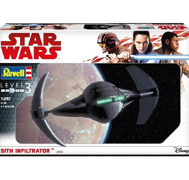 Revell 03612 1/257 SITH INFILTRATOR  Modellismo
