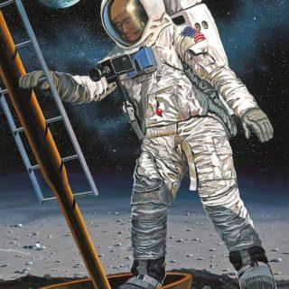 Revell 03702 Apollo 11 Astronaut on the Moon (50 Years Moon Landing)