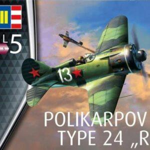 Revell 03914 Polikarpov I-16 Rata Modellismo
