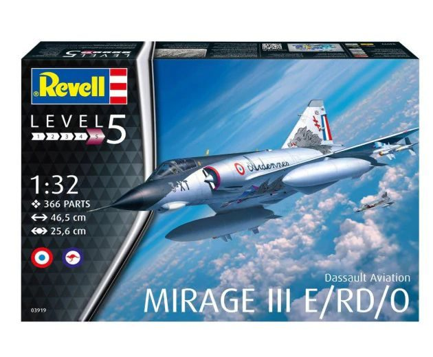 Revell 03919 Dassault Mirage III E