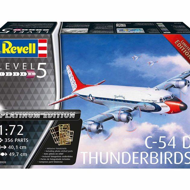 Revell 03920 C-54D Blue Angels Platinum Edition Modellismo