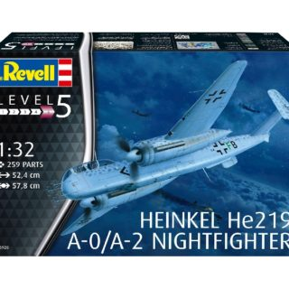 Revell 03928 HEINKEL HE219 A-O NIGHTFIGHTER