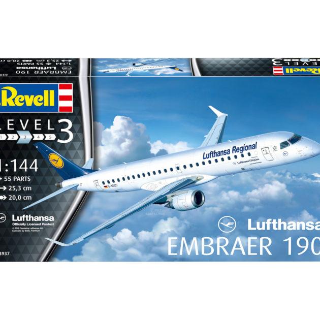 """Revell 03937 EMBRAER 190 """"LUFTHANSA"""""""