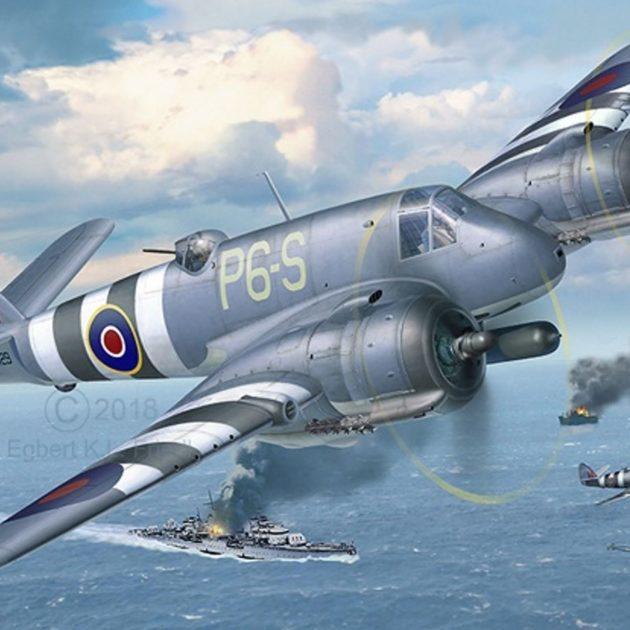 Revell 03943 Bristol Beaufighter TF. X aereo in kit