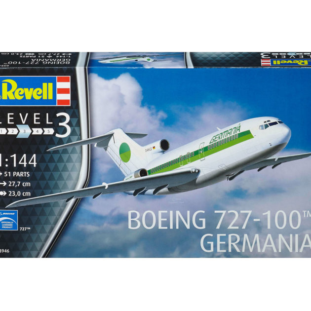 Revell 03946 BOEING 727 GERMANIA