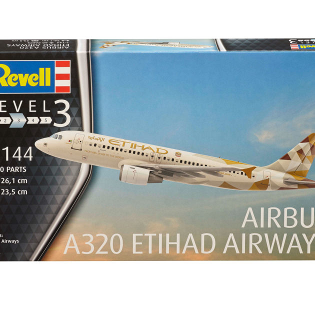 Revell 03968 Airbus A320 Etihad