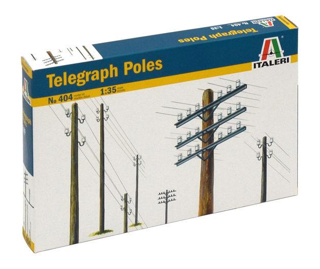 ITALERI 0404 Telegraph Poles Modellismo