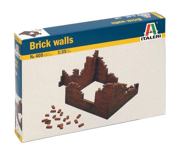 ITALERI 0405 Brick Walls Modellismo