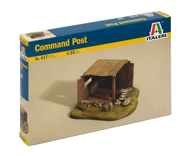 ITALERI 0417 Command Post Modellismo