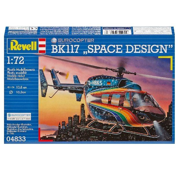 """REVELL 04833 BK-117 """"Space"""" Modellismo"""