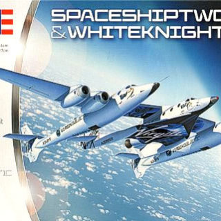 Revell 04842 SpaceShipTwo & Carrier White Knight Two