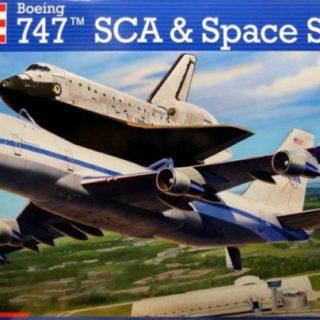 Revell 04863 Space Shuttle & Boeing 747