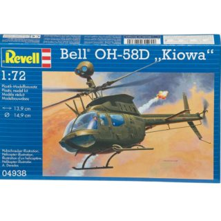 """REVELL 04938 Bell OH-58D """"Kiowa"""" Modellismo"""