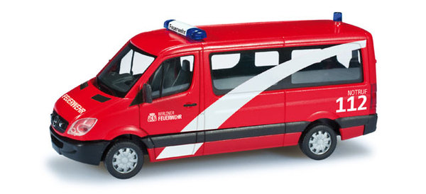 "Herpa 049689 MB Sprinter 06 Bus Flachdach ""Vigili del  Modellismo"