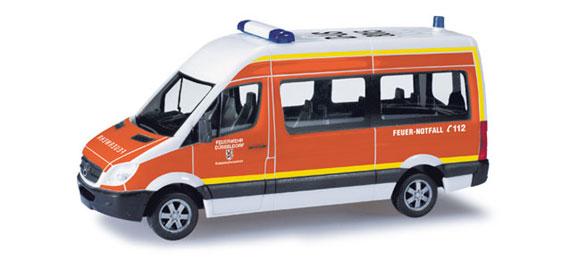 "Herpa 049764 MB Sprinter 06 Bus HD "" Vigili del fuoco  Modellismo"