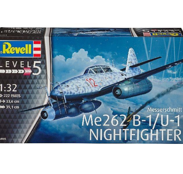 Revell 04995 MESSERSCHMITT ME262 B-1 Modellismo