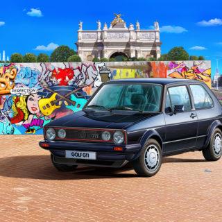 Revell 05694 GIFT SET - 35 Years VW Golf 1 GTi Pirelli
